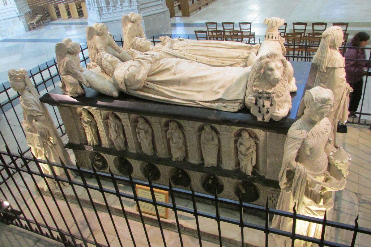 Tombeau de François II dans la cathédrale