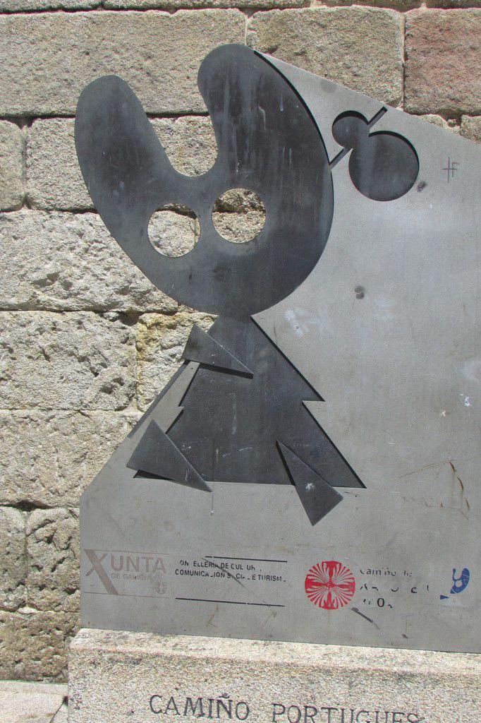 la silhouette symbole de l'Albergue.... tant attendue
