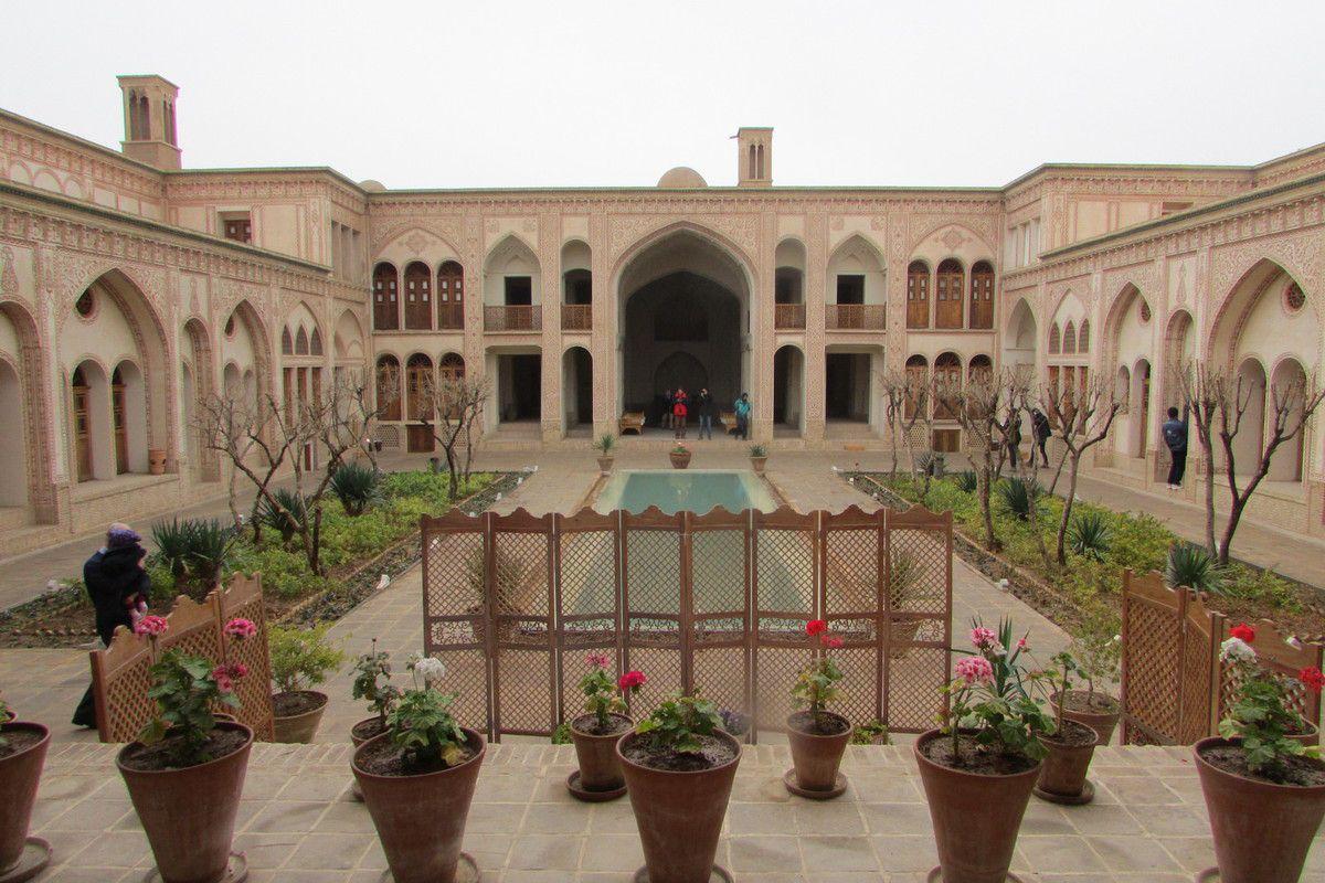 maison traditionnelle à Kashan
