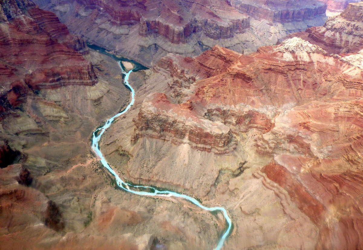 survol du Grand Canyon