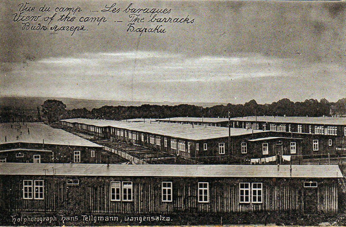 Le camp de Langensalza
