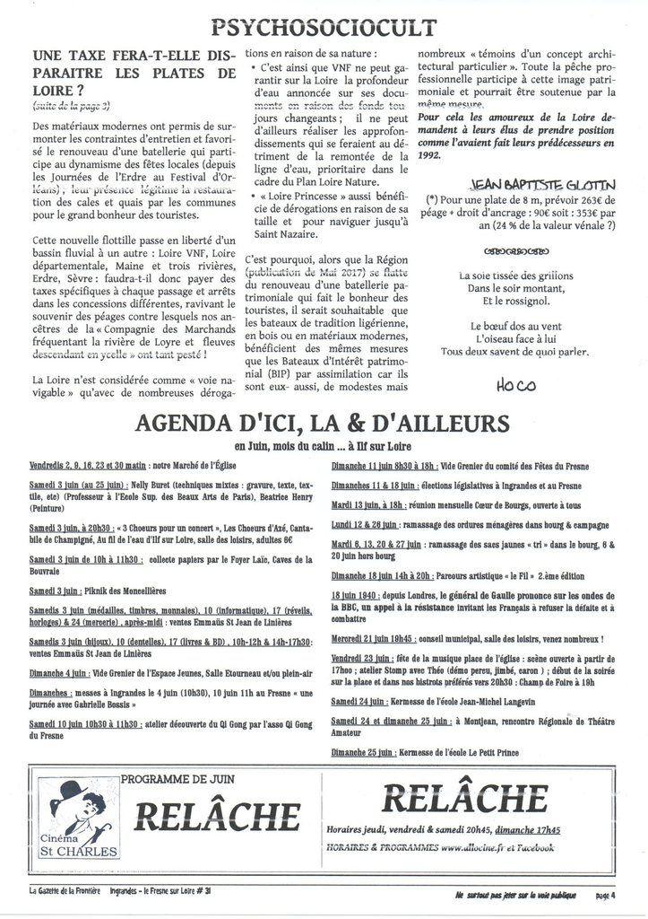La Gazette de la Frontière #31, mai 2017