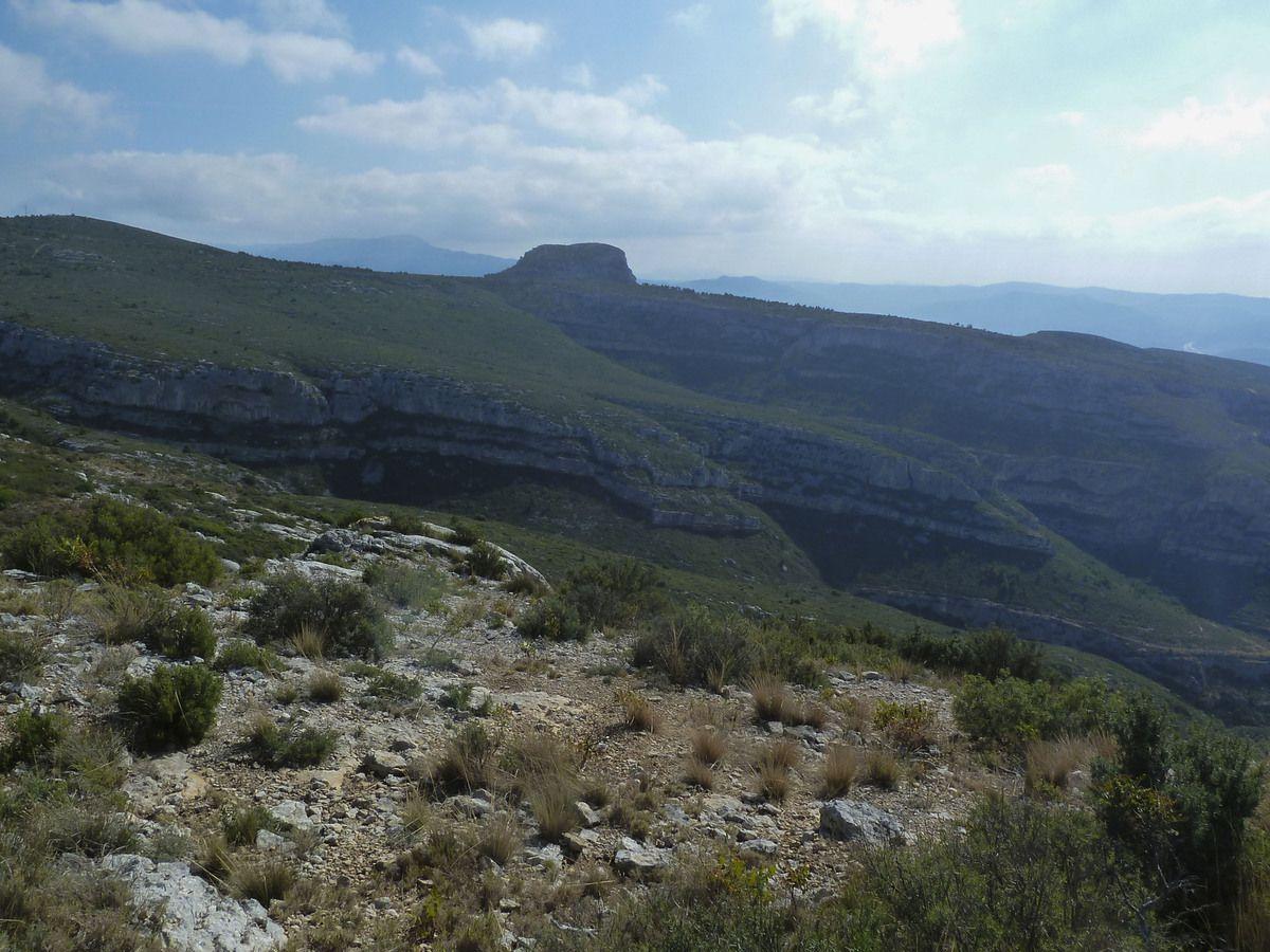 Belle randonnée Pagnolesque à laquelle il ne manquait que  200 m  pour atteindre les  20 km ...la prochaine fois !