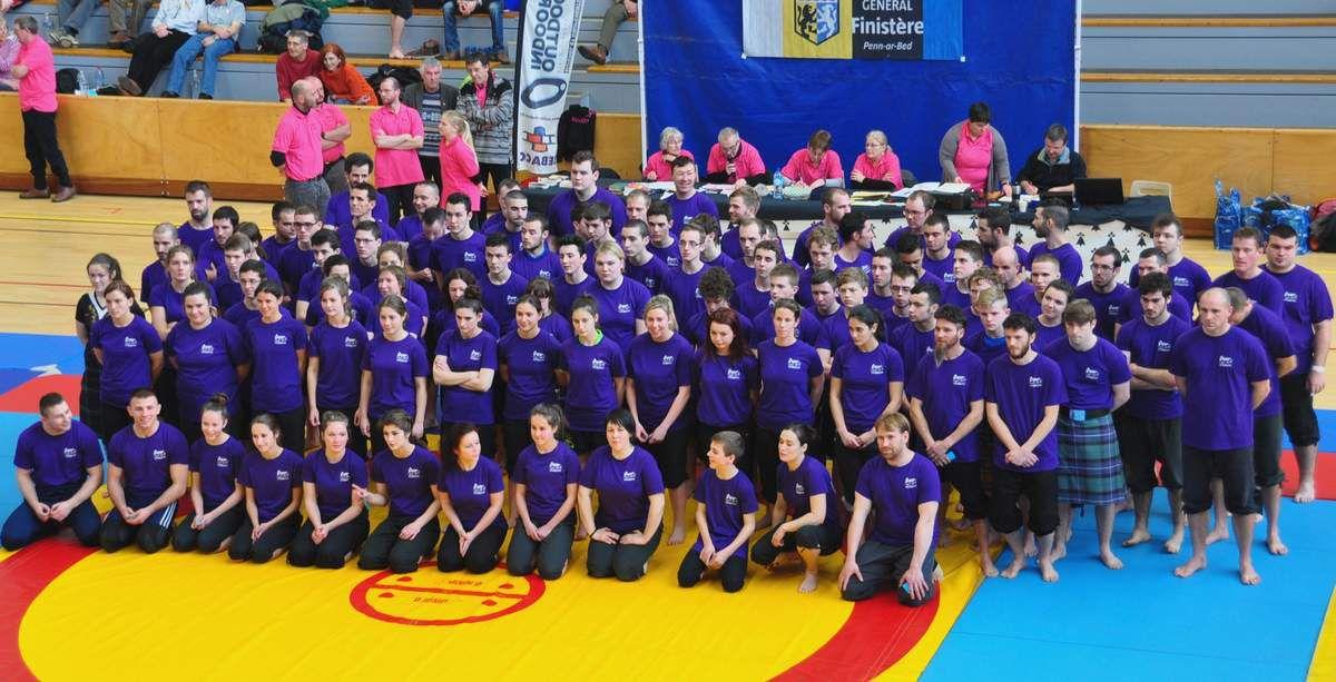Le tournoi international de back-hold à Quimper