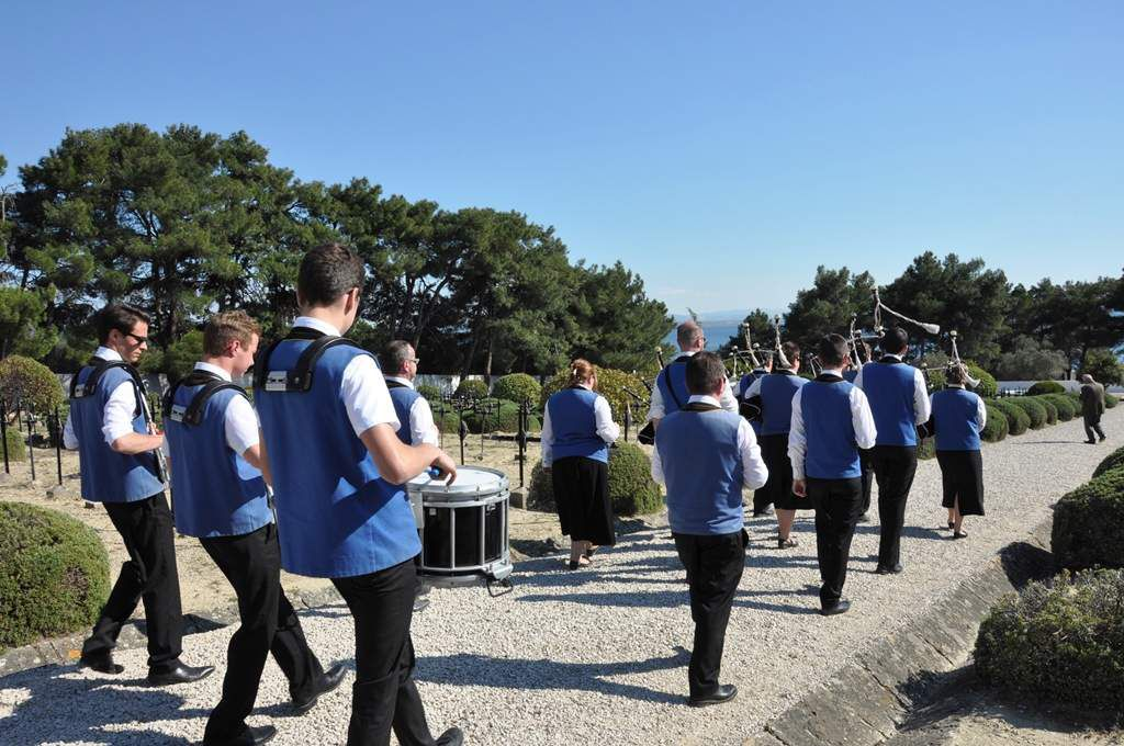 L'hommage de Quimpérois aux soldats des Dardanelles