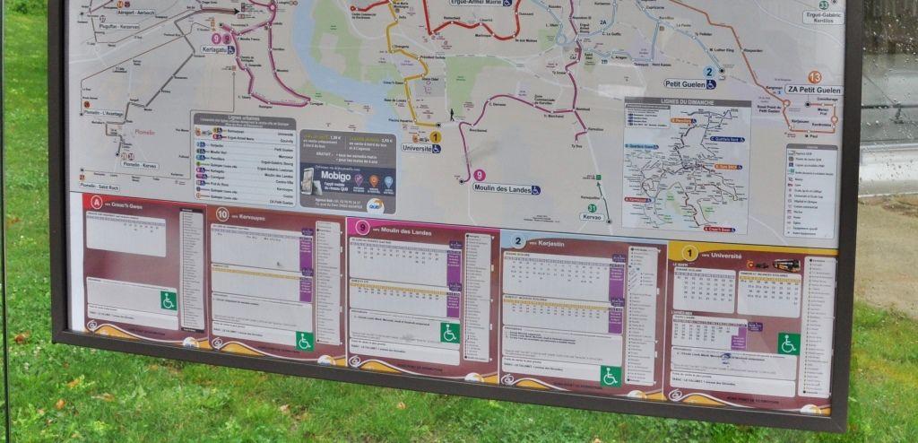 300 passages de bus par jour au rond-point de Kermoysan