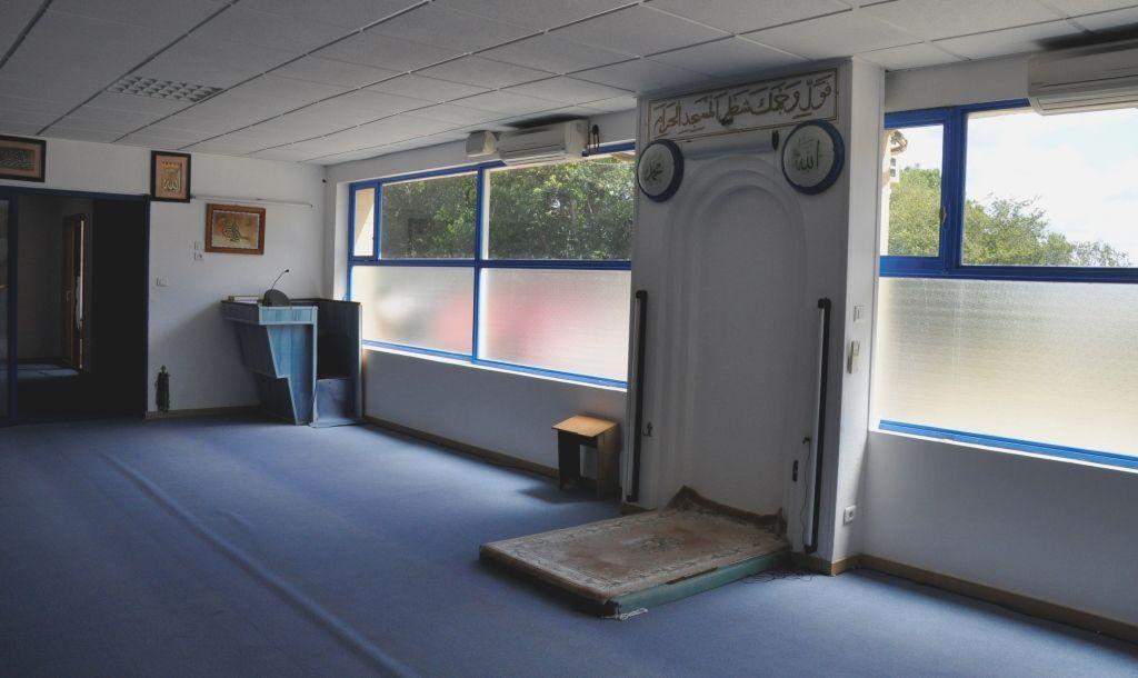L'actuelle salle de prière (archive Penhars Infos 2012)