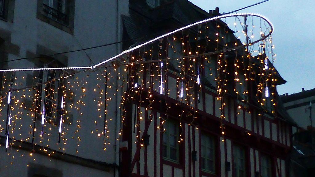 Les illuminations de Quimper jusqu'au 11 janvier