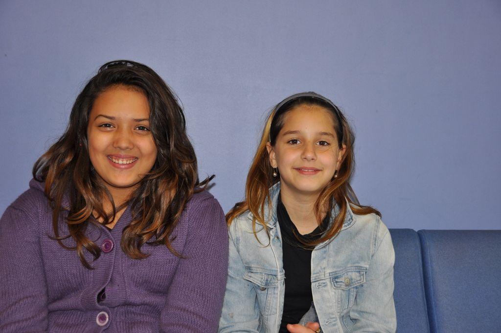 Dinah et Keny (photo prise avec l'autorisation parentale)