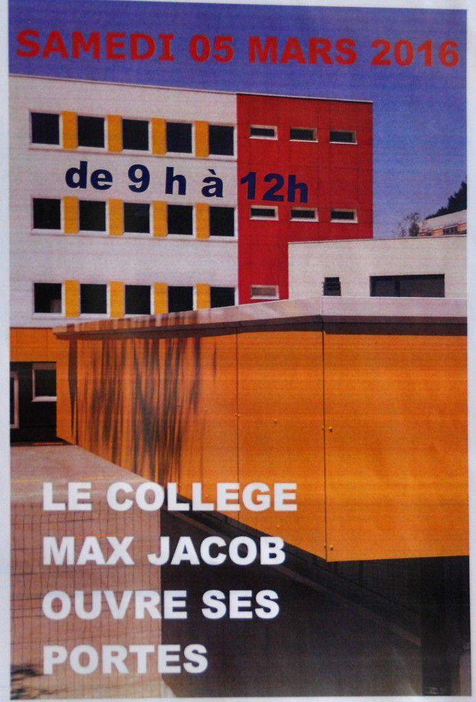 Portes ouvertes samedi au collège Max-Jacob