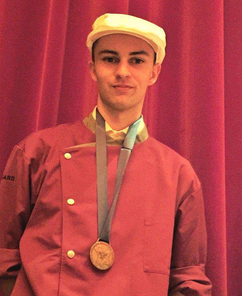 Curt Chastel 7ème au concours du meilleur apprenti boucher de France