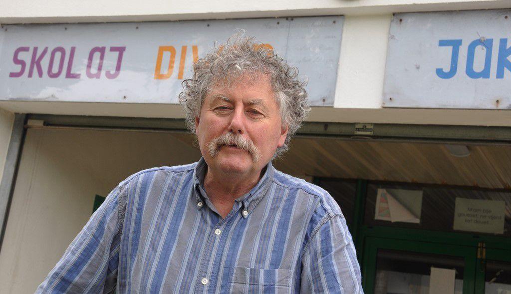 Padrig An Abask, directeur du collège Diwan Jakez-Riou Kemper va prendre sa retraite