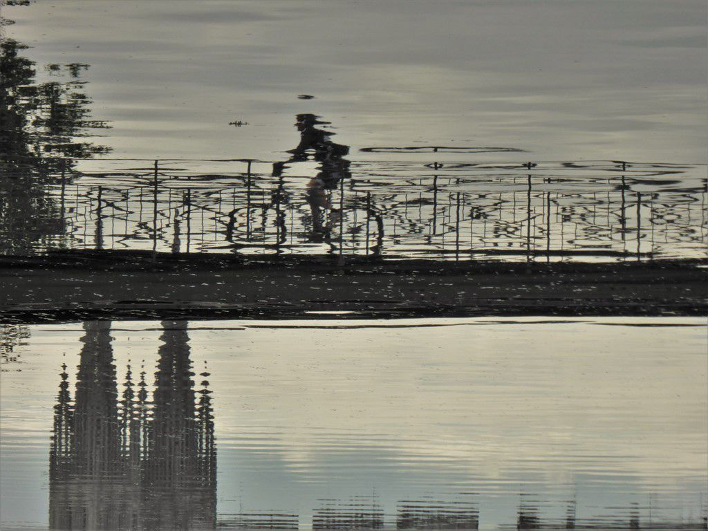 """ Grande marée "" à Quimper  ..."