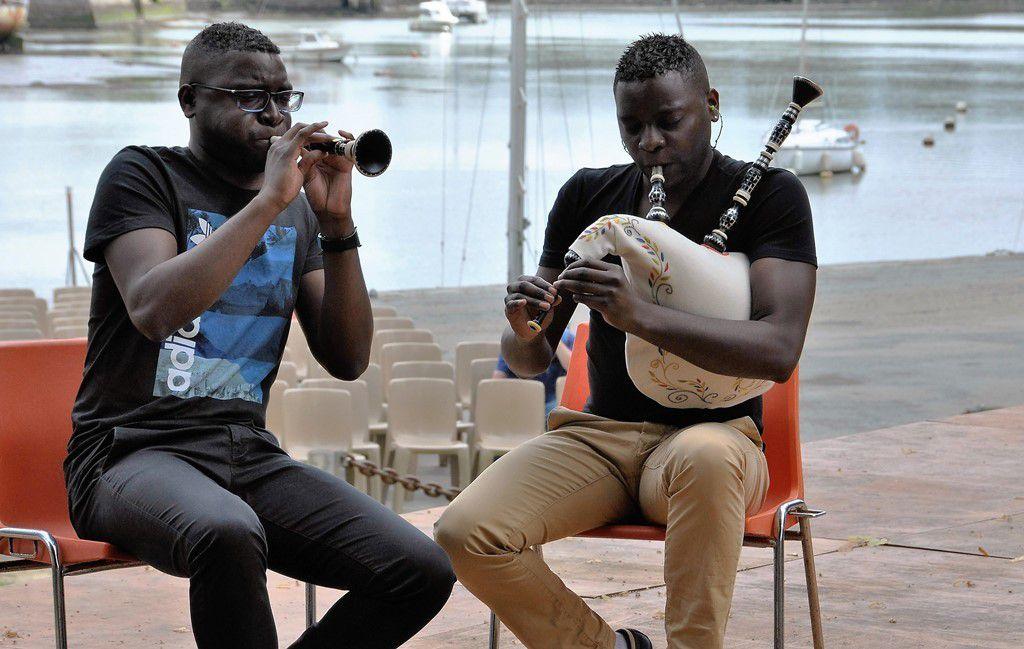 Yannick Martin et Tangi Josset