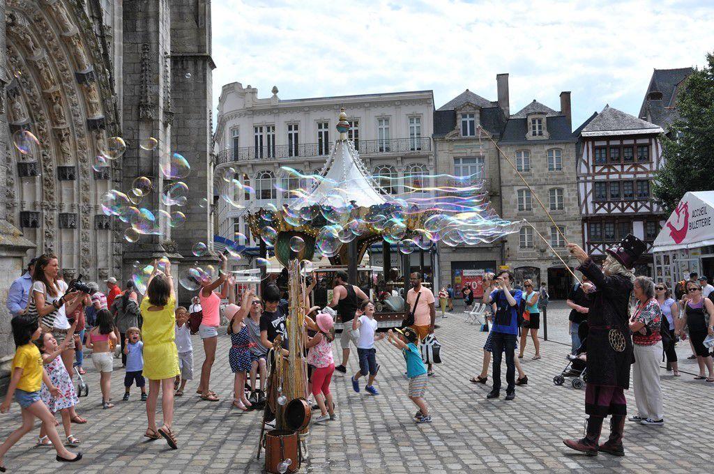 La magie des bulles ...