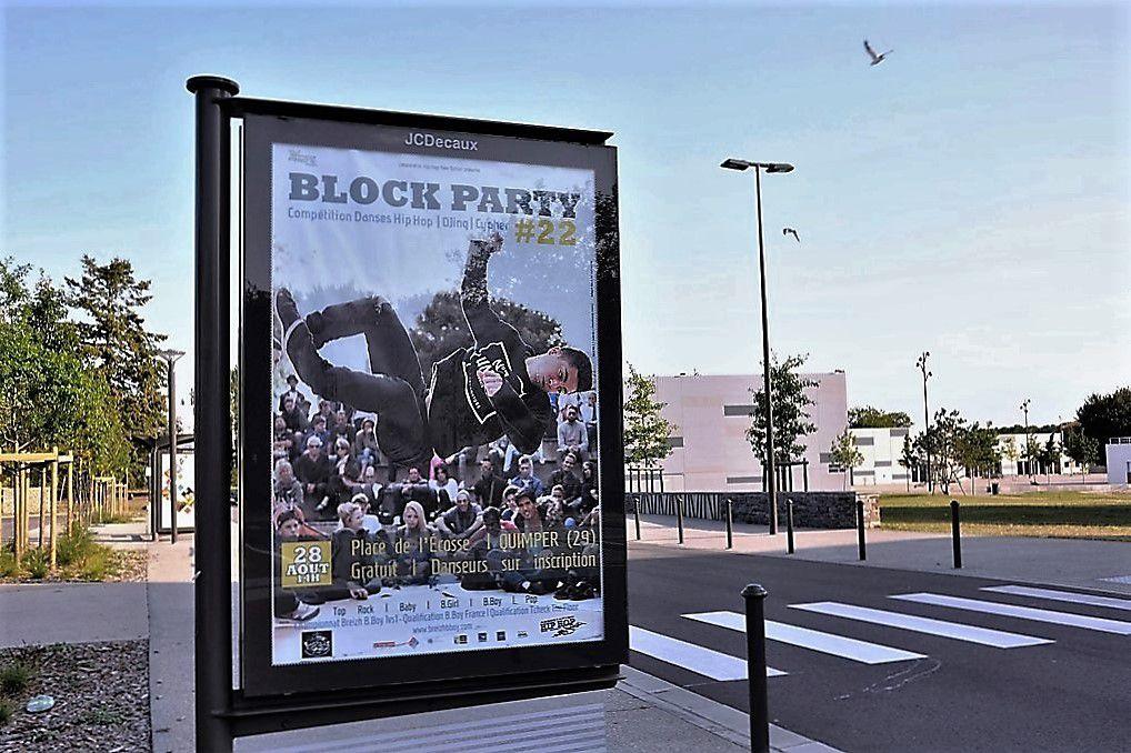 Block party demain dimanche place d'Écosse à Kermoysan