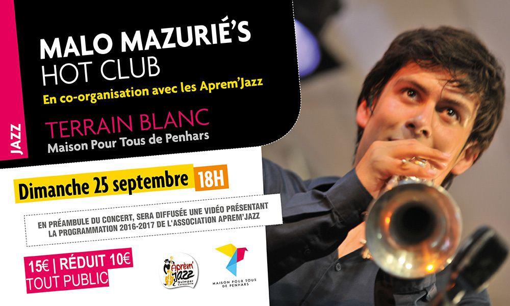 Jazz dimanche au Terrain Blanc à Penhars