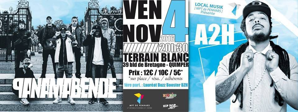 Panana Bende demain au Terrain Blanc