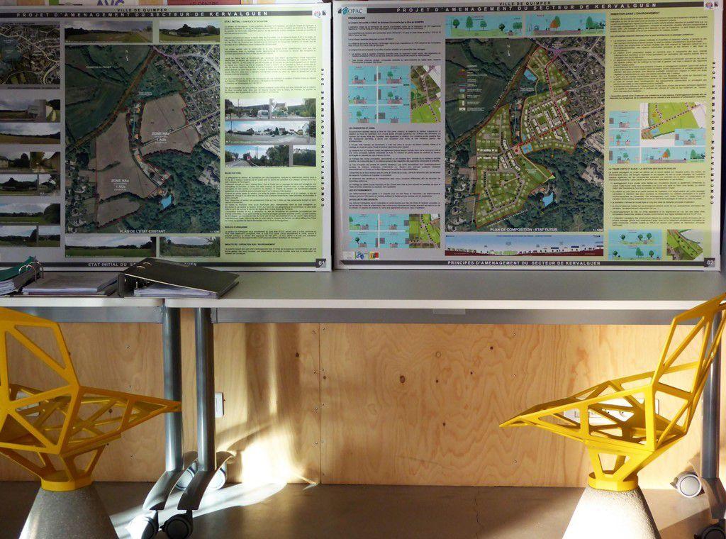Donnez votre avis sur le projet de Kervalguen exposé à la mairie annexe de Penhars