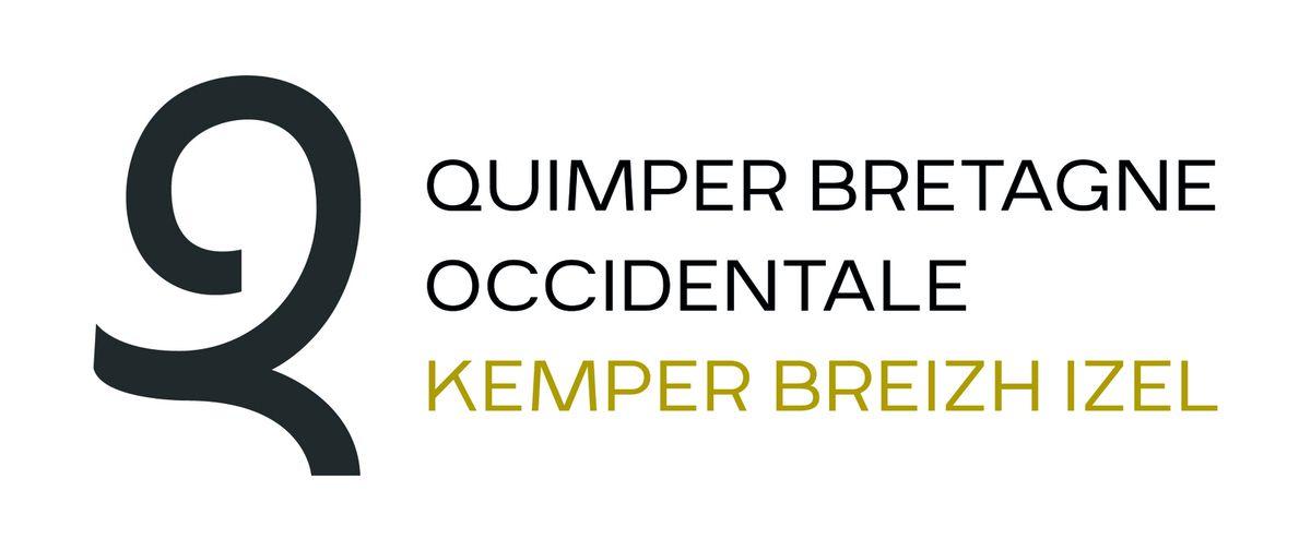 Quimper Bretagne Occidentale / Kemper Breizh Izel et son logo