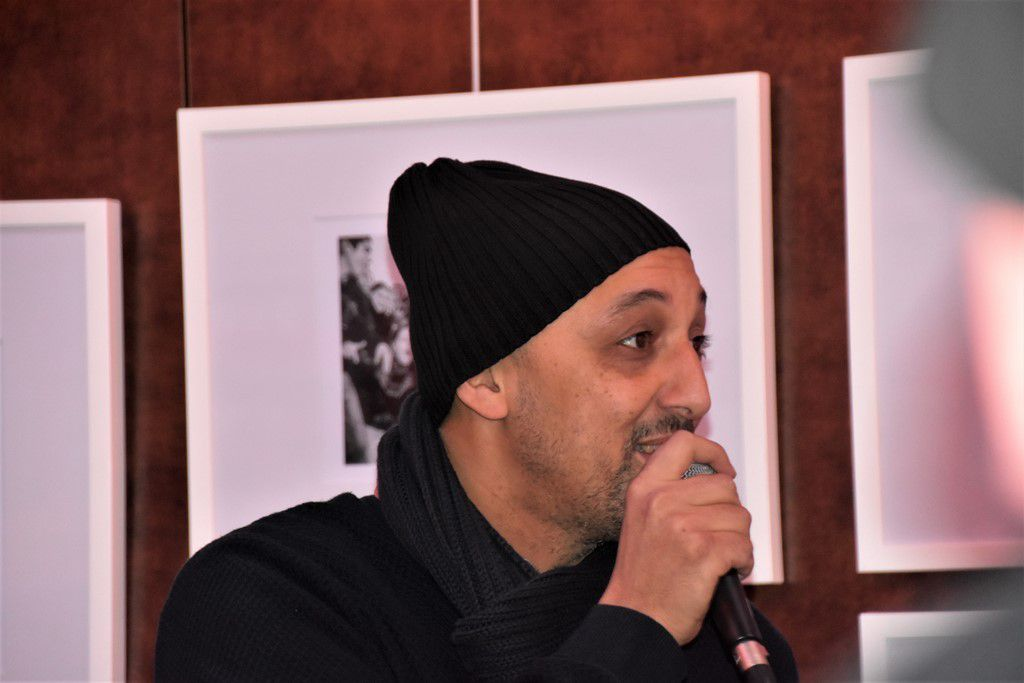 Rachid Benrahal, responsable du Local musik