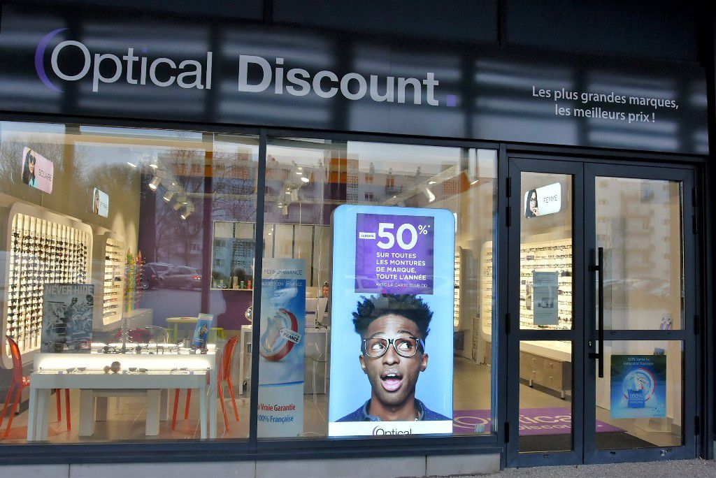 Nouveau Commerce A Penhars Optical Discount Au Centre Commercial Les 4 Vents