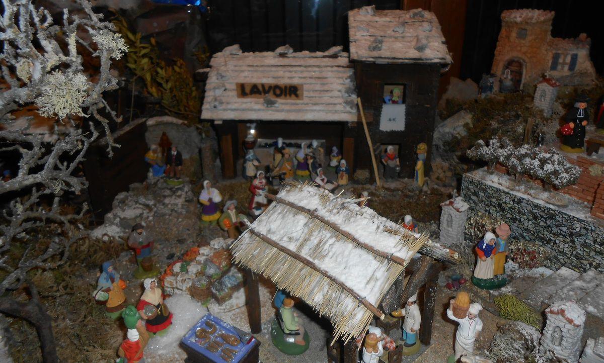 La crèche de Noël 2014 de Maurice
