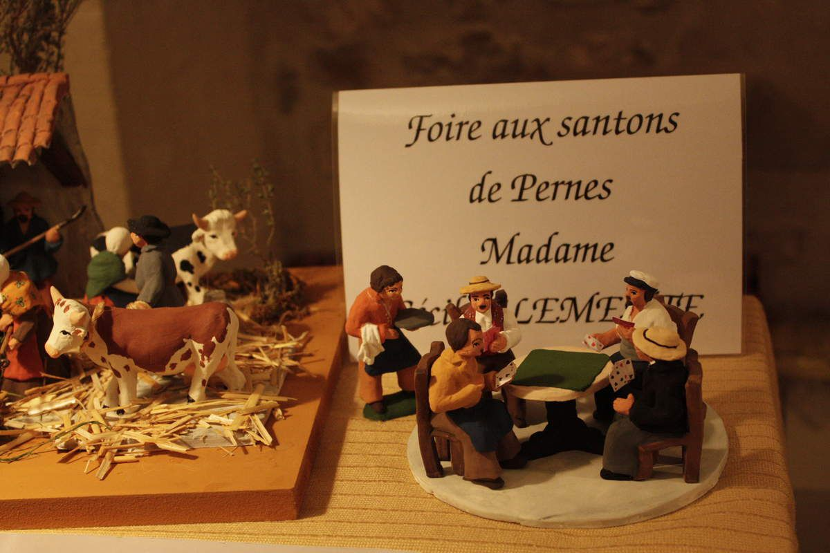 La foire aux santons de Pernes-les-Fontaines 2015, première partie