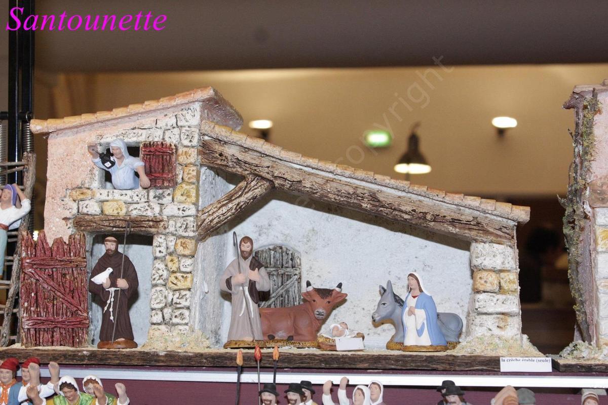 La foire aux santons de Pernes-les-Fontaines 2015, fin