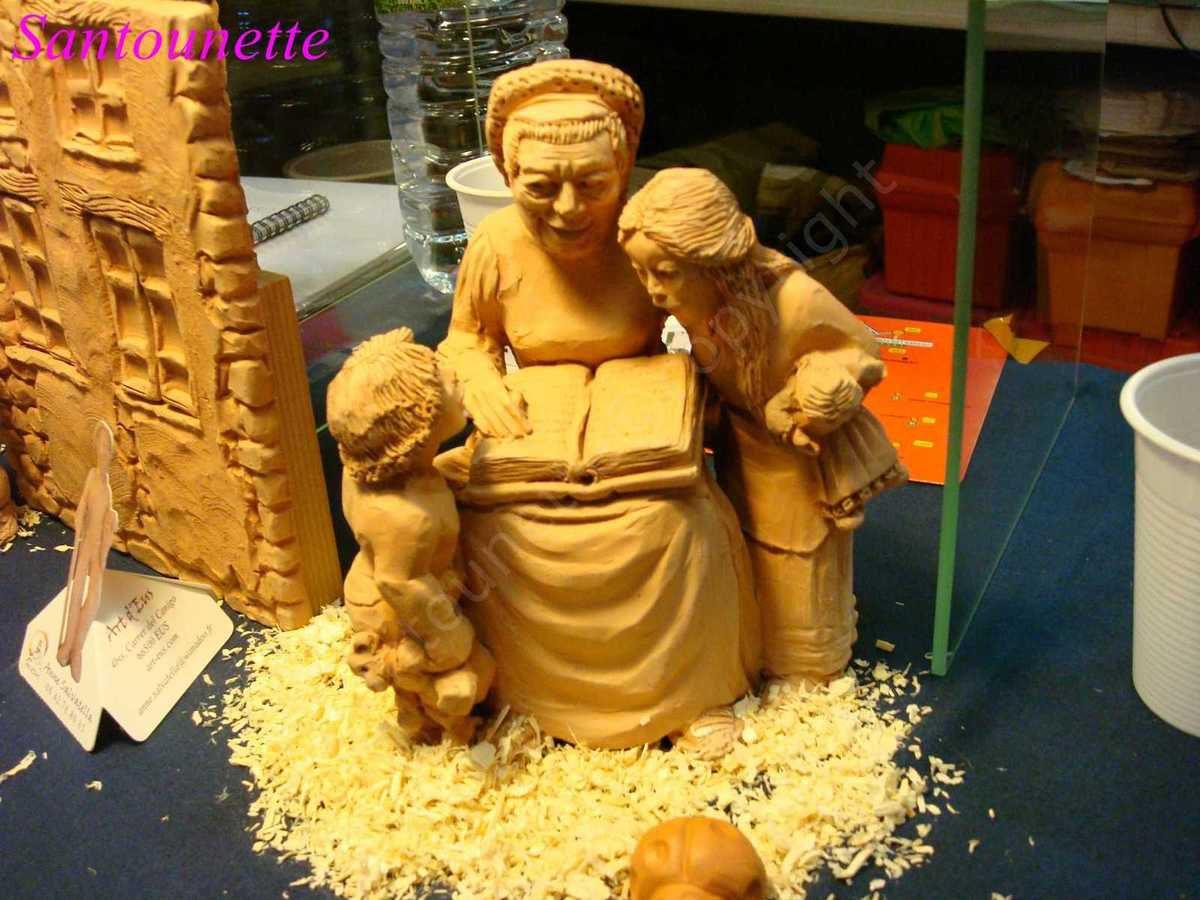 La foire aux santons de Sault, première partie