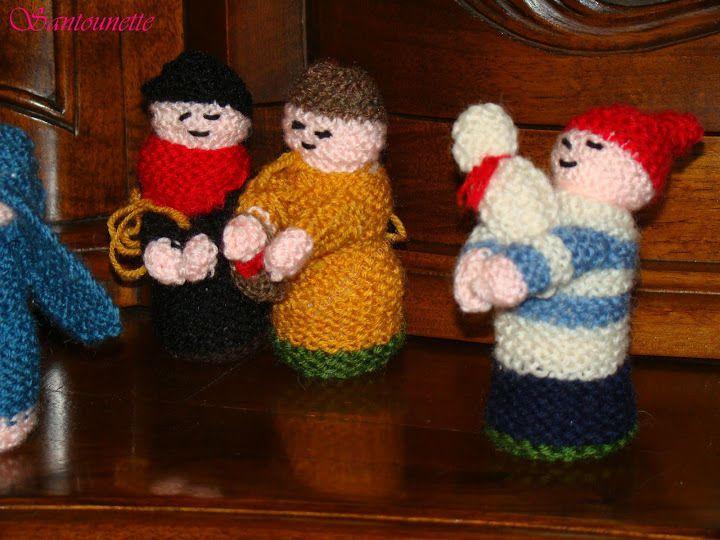 Avec deux brins de laine: à voir à l'exposition de santons à l'Escarène
