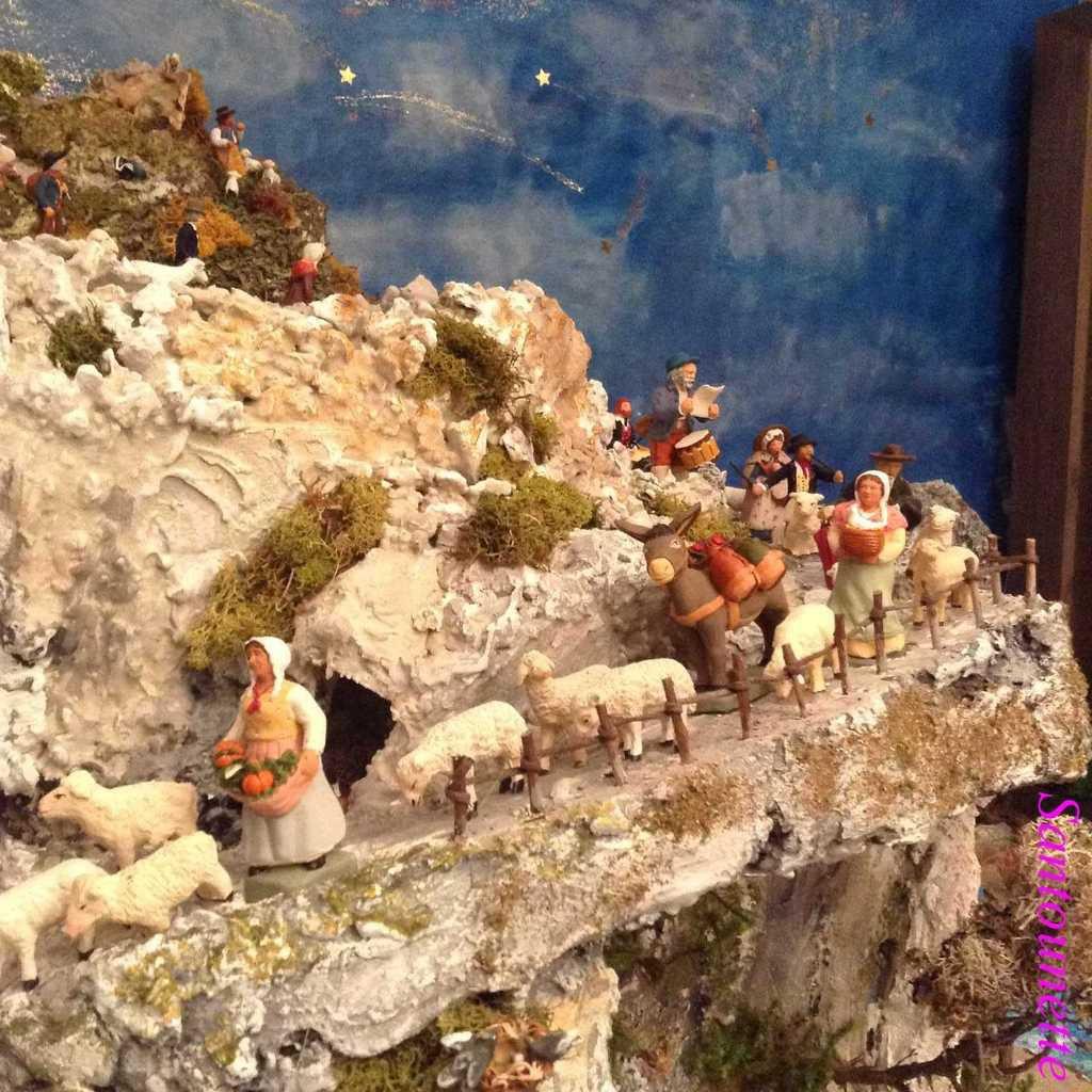 Les santons pêcheurs et la crèche du bord de mer (1ère partie)
