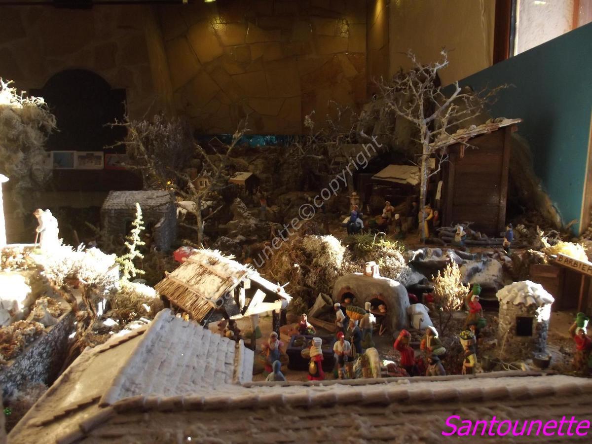 La crèche de Maurice de Noël 2015