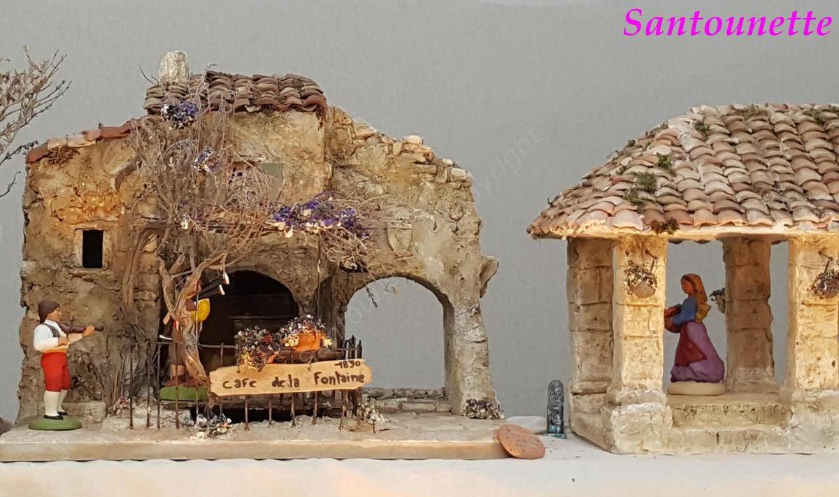 La biennale de l'art santonnier d'Aubagne 2016 (Santons isoline Fontanille, Cathy et Daniel Aubenas)