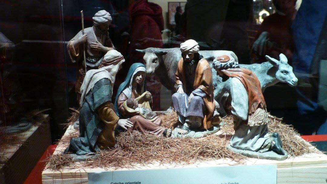 Exposition 2016 de crèches et Nativités d'Espagne en Belgique (Liège, église St-Remacle)