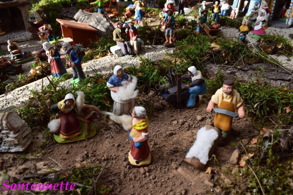 La crèche de Frédéric (santons)