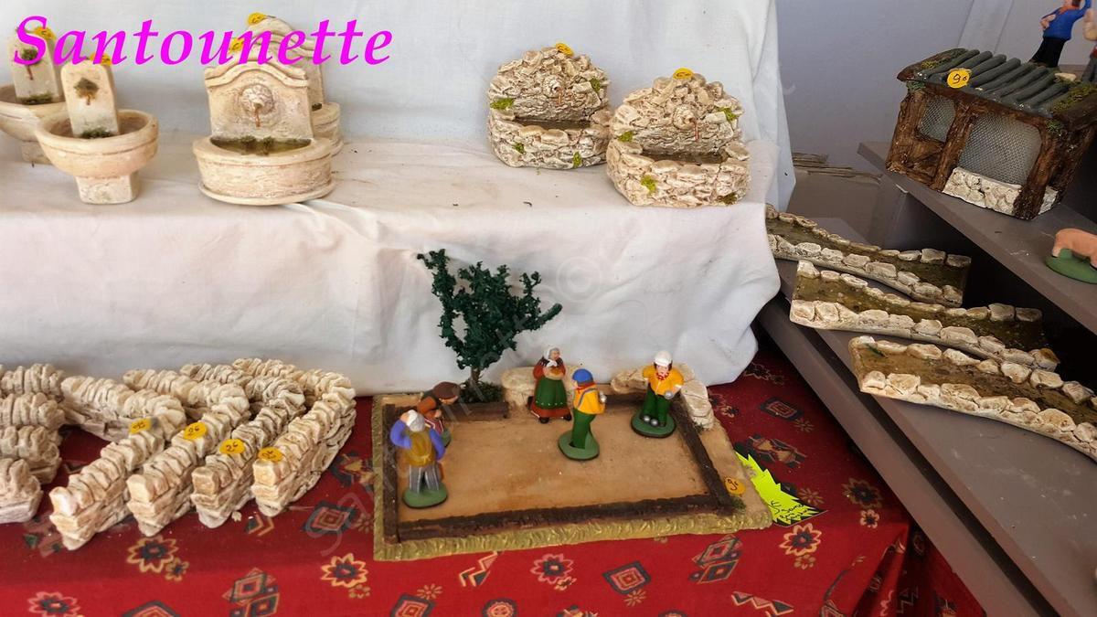 Les santons Manon (foire aux santons et à la céramique d'Aubagne)