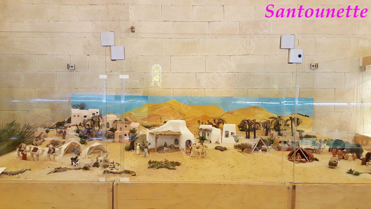 La crèche du désert d'Arlette Bertello