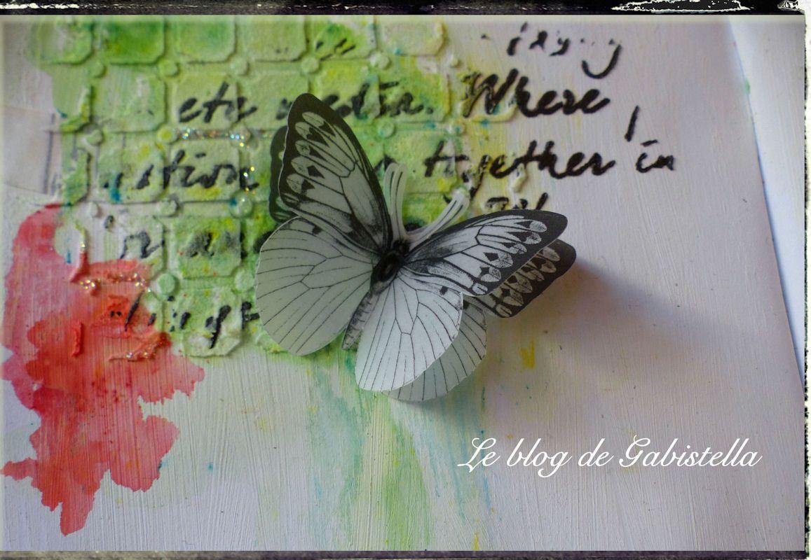 Un petit papillon pour la touche finale et c'est prêt.