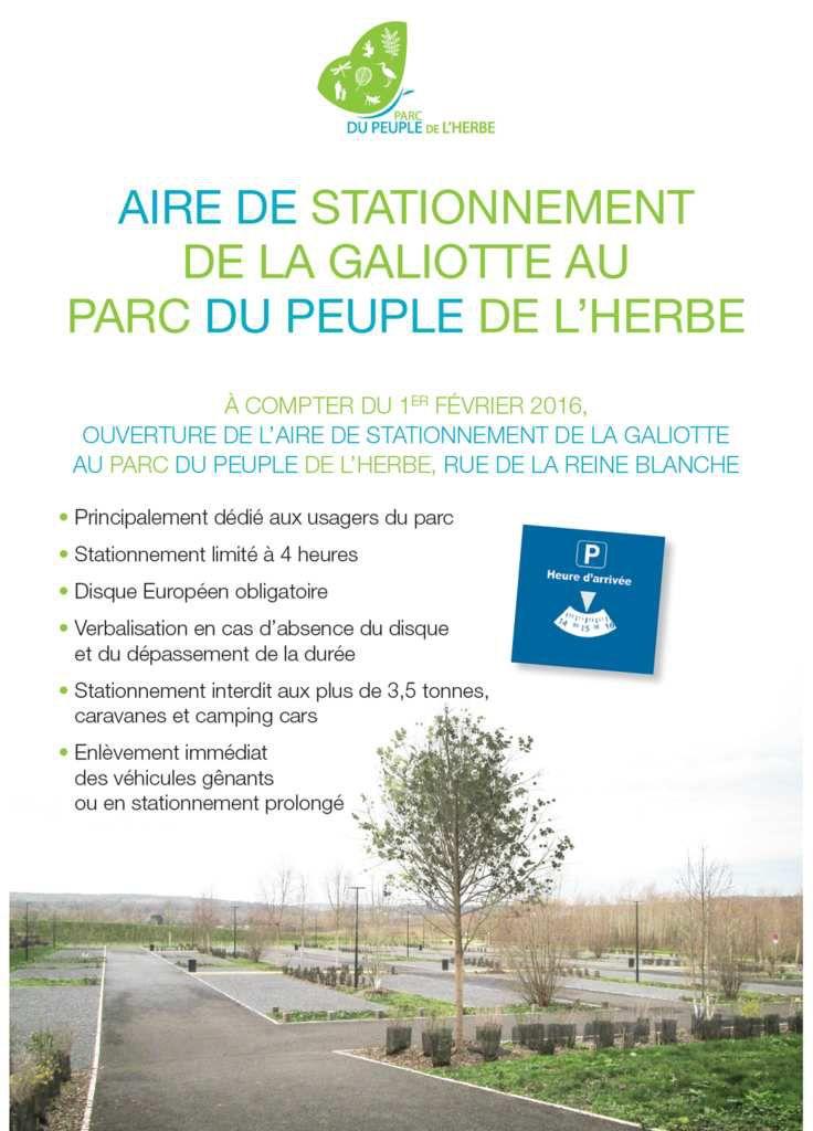 [Stationnement] Ouverture Parking PPH Galiotte le 1er février