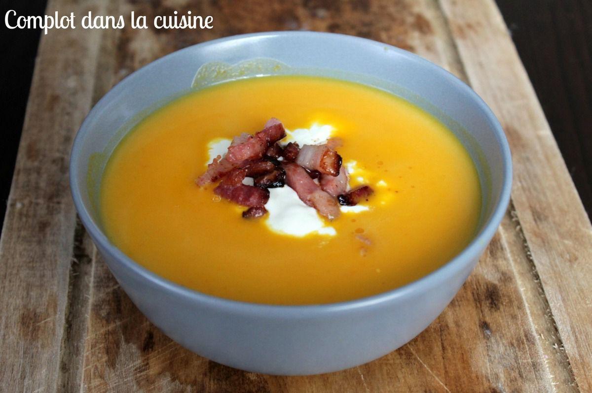 Soupe potimarron – lardons – Livre #2