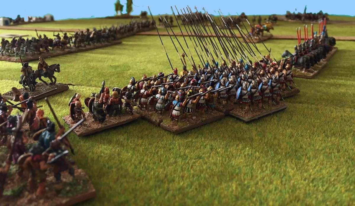 DBM400 - Later Hoplite Greek contre Seleucid