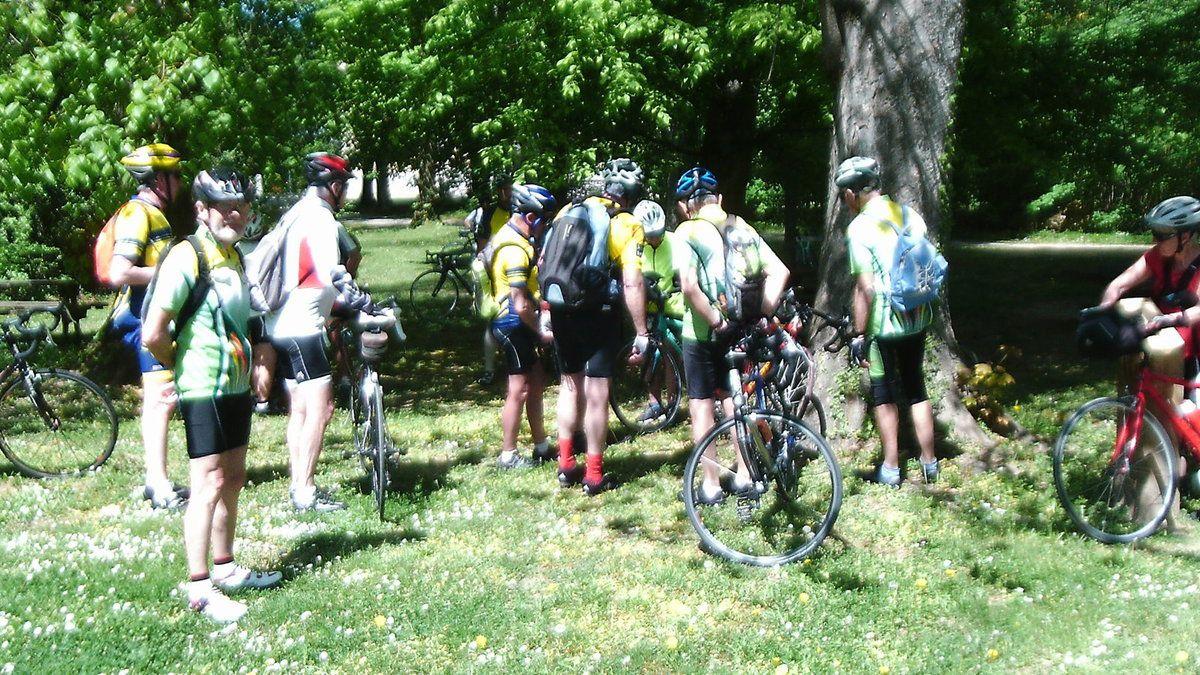 Vélo découverte 24 avril St Symphorien d'Ozon