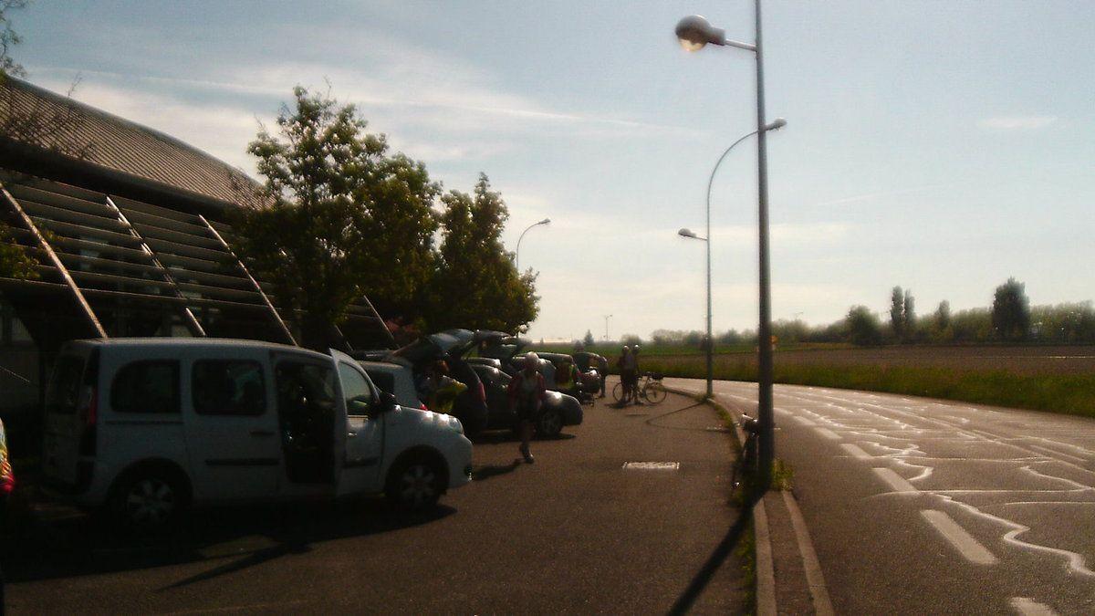 Vélo Découverte ** Corbas **   30 avril 2015