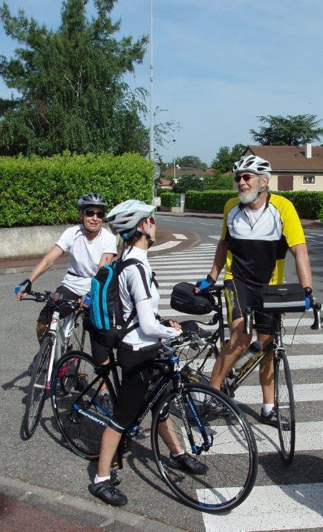 Vélo découverte     ----  Genas----   11 mai 2015