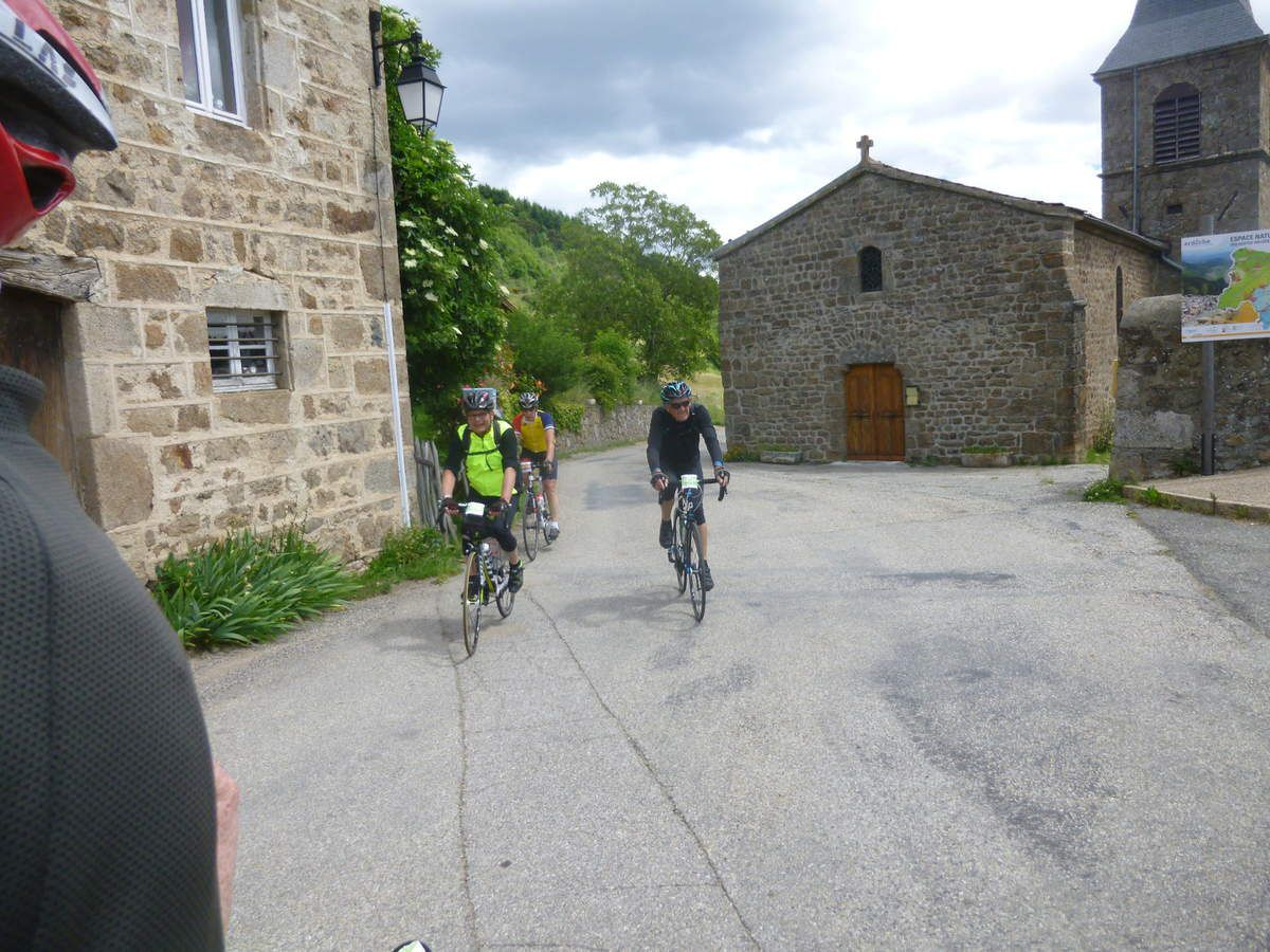L'Ardéchoise :Ardèche Verte  -15 juin 2016-