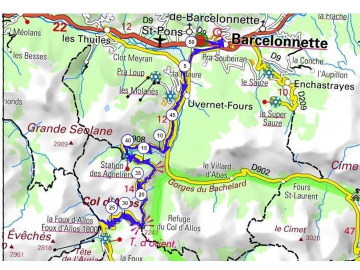 Sejour Ubaye -Col d' Allos-29-06-2016