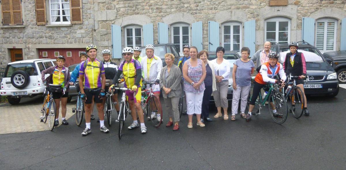 Club cyclo de Fourneaux à Saugues  23/24 juillet 2016
