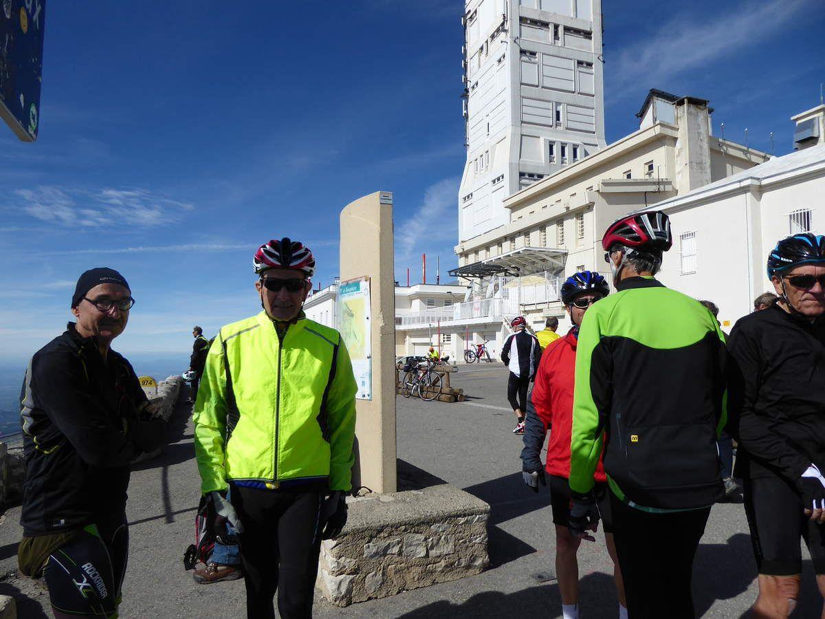 Ventoux - Sault Bédoin-  5 octobre 2016
