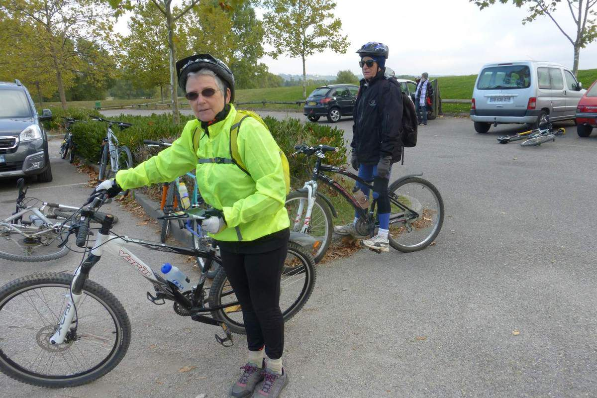 Balan,Parc de Miribel--VTC- lundi 10 octobre 2016